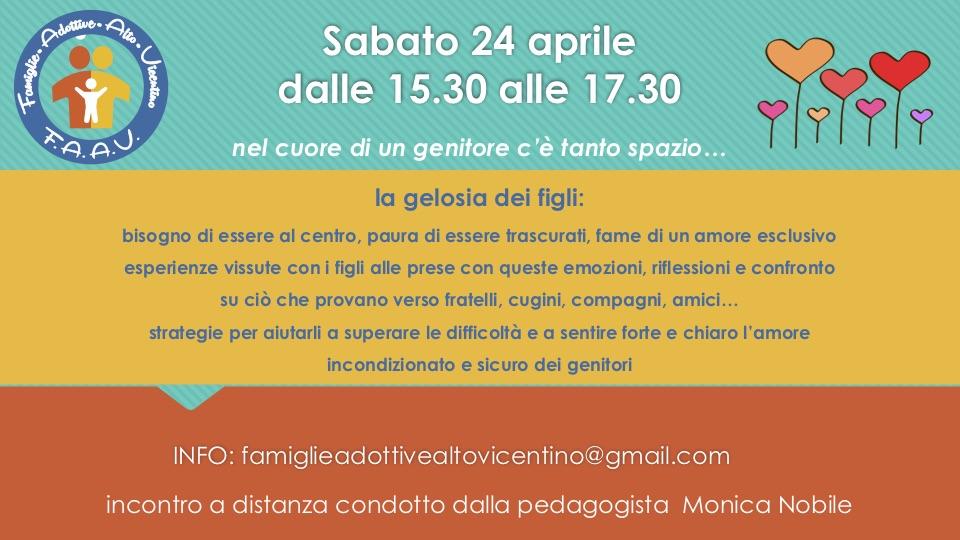 24 aprile - incontro Monica Nobile